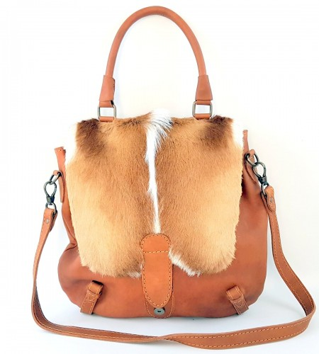 KALA BAG COGNAC et SPRINGBOK Naturel