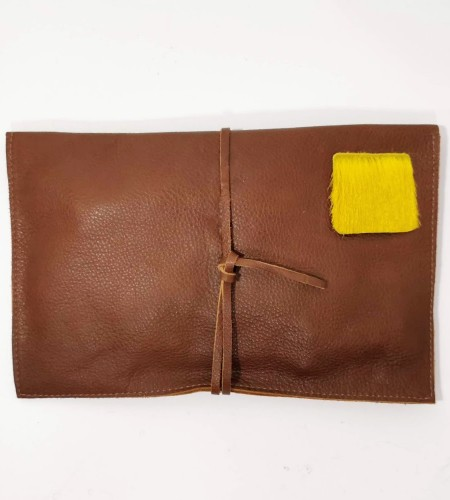 SAFARI MANDELA Terracotta Yellow Springbok